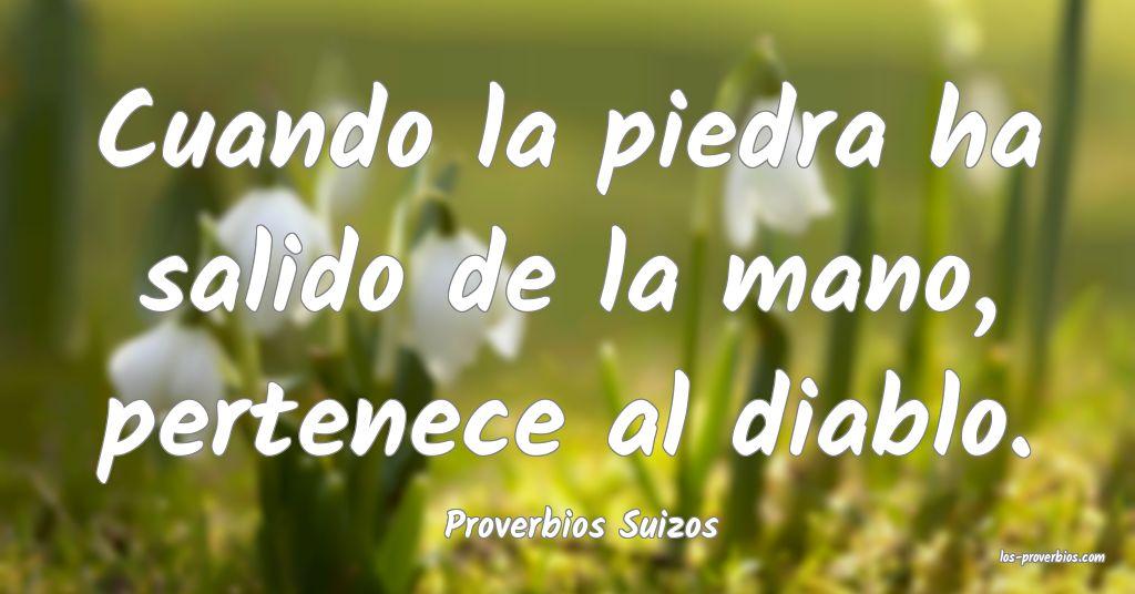 Proverbios Suizos
