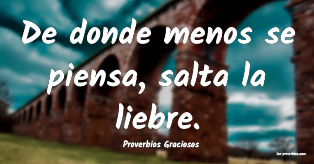Proverbios Graciosos