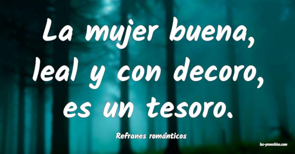 Refranes románticos