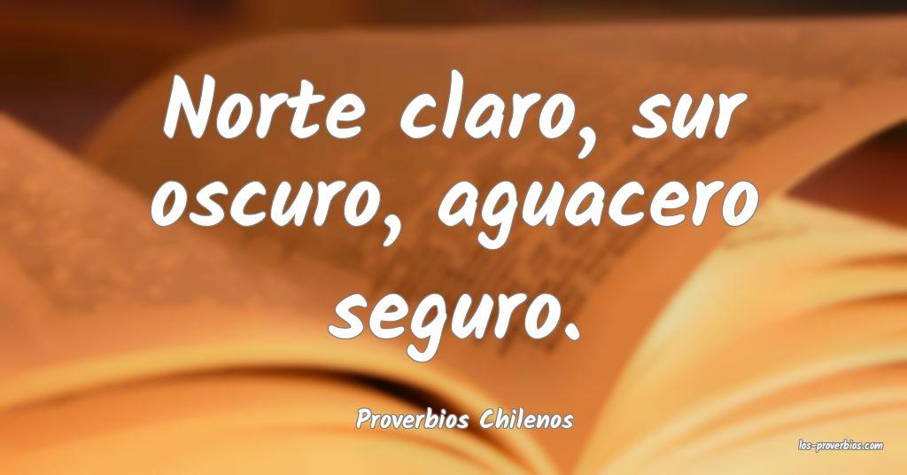 Proverbios Chilenos
