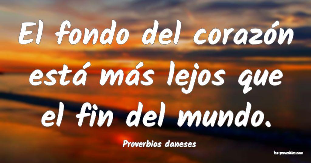 Proverbios daneses