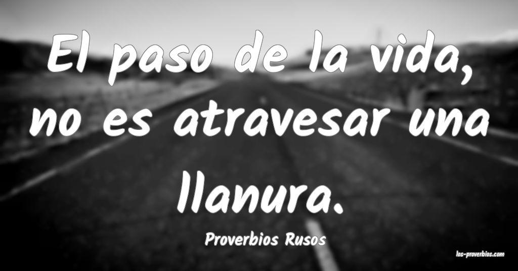 Proverbios Rusos