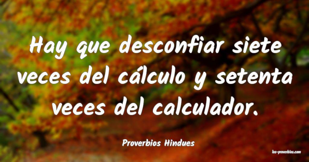 Proverbios Hindues