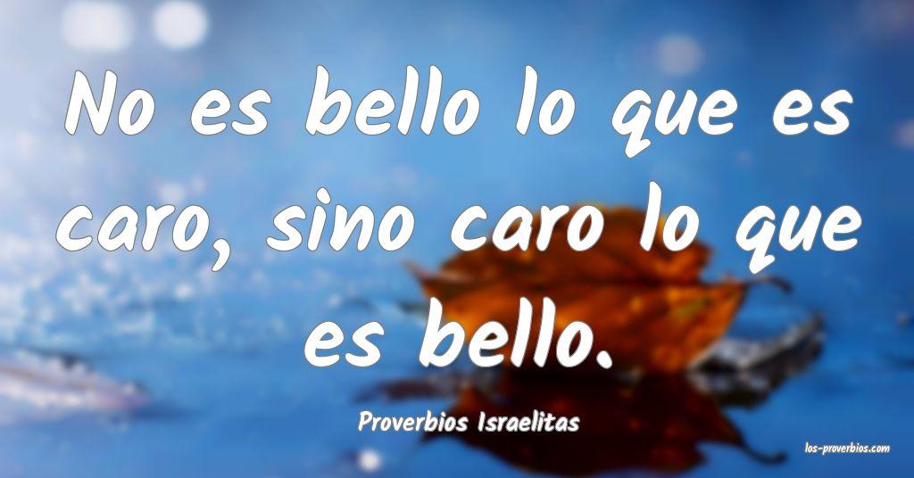 Proverbios Israelitas
