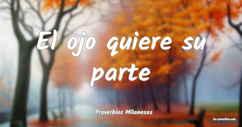 Proverbios Milaneses