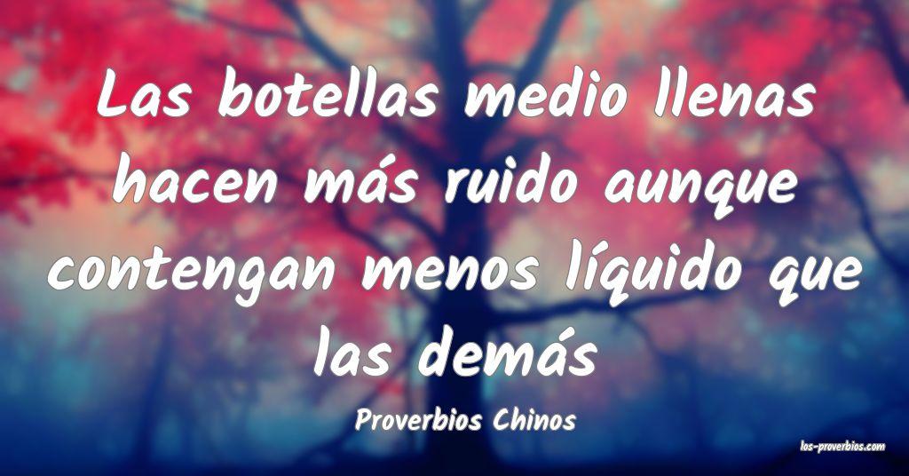Proverbios Chinos