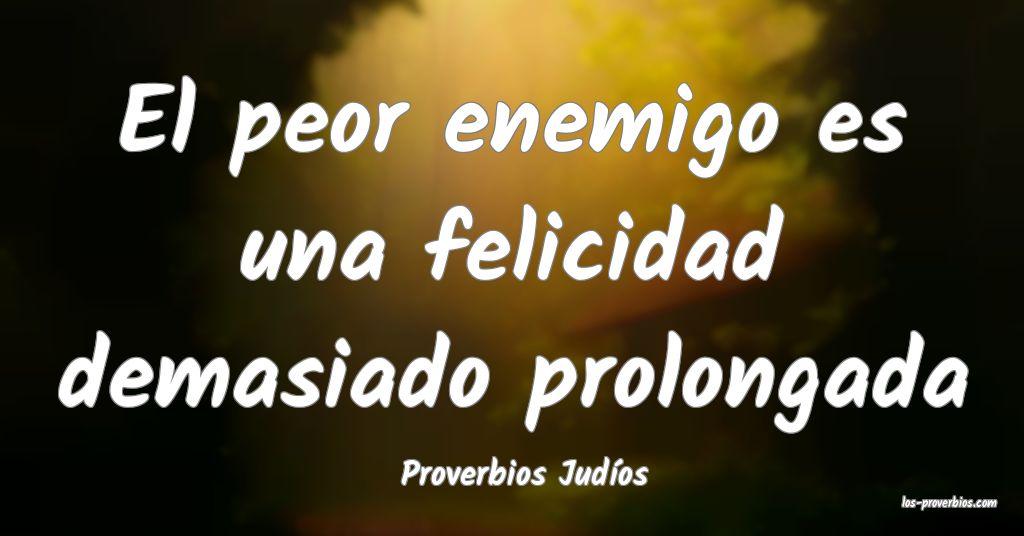 Proverbios Judios
