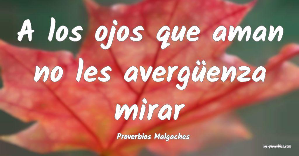 Proverbios Malgaches