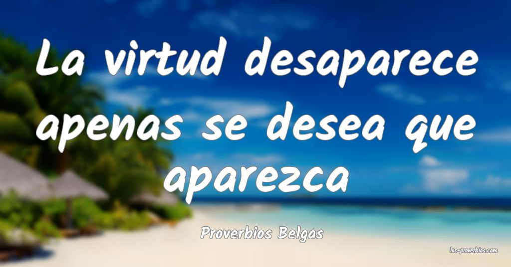 Proverbios Belgas