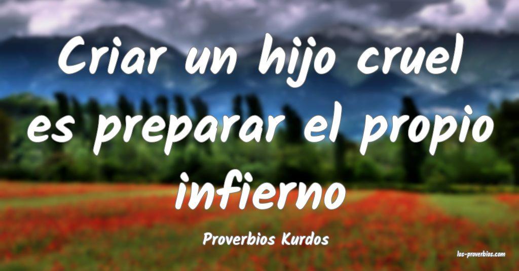 Proverbios Kurdos