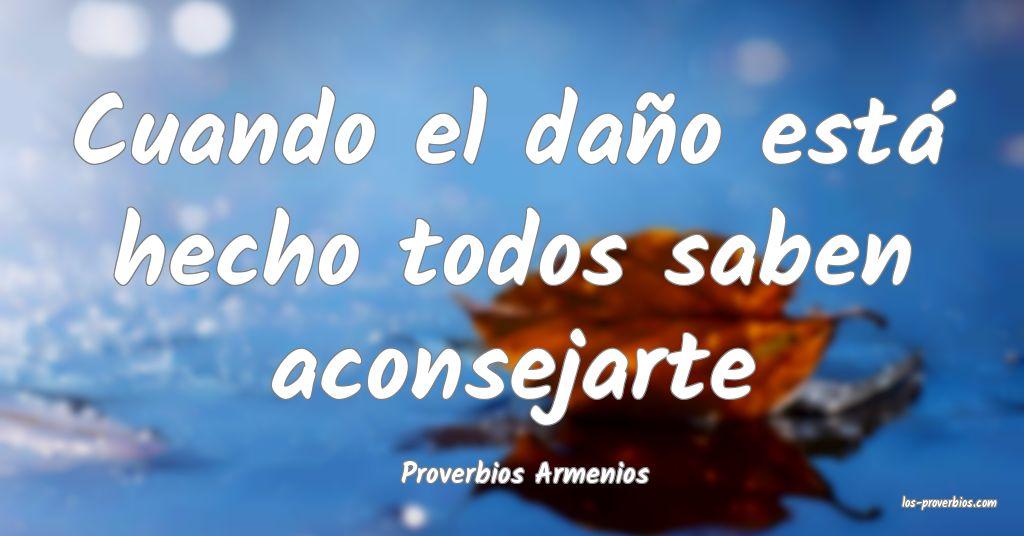 Proverbios Armenios