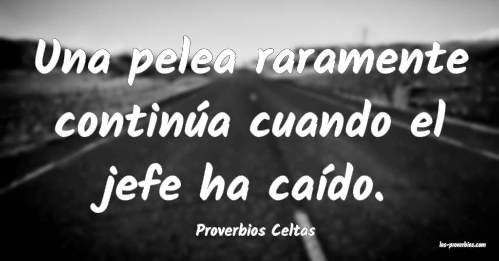 Proverbios Celtas