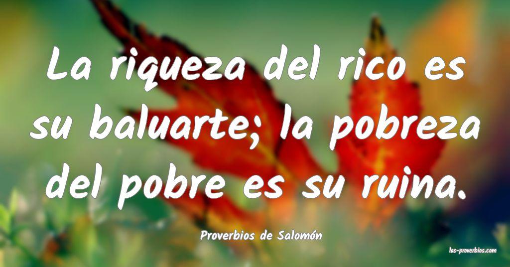 Proverbios de Salomón