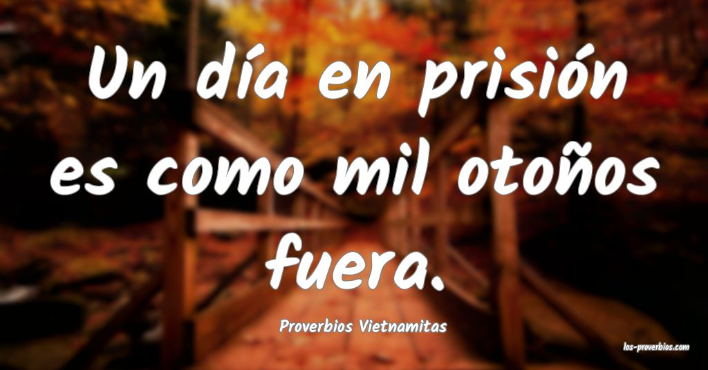 Proverbios Vietnamitas