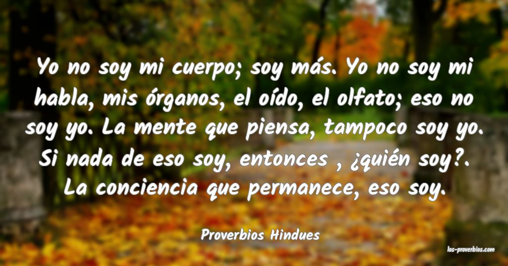 Proverbios Hindues