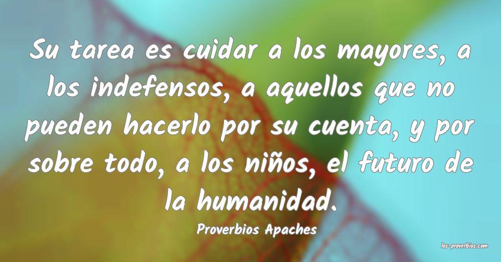 Proverbios Apaches