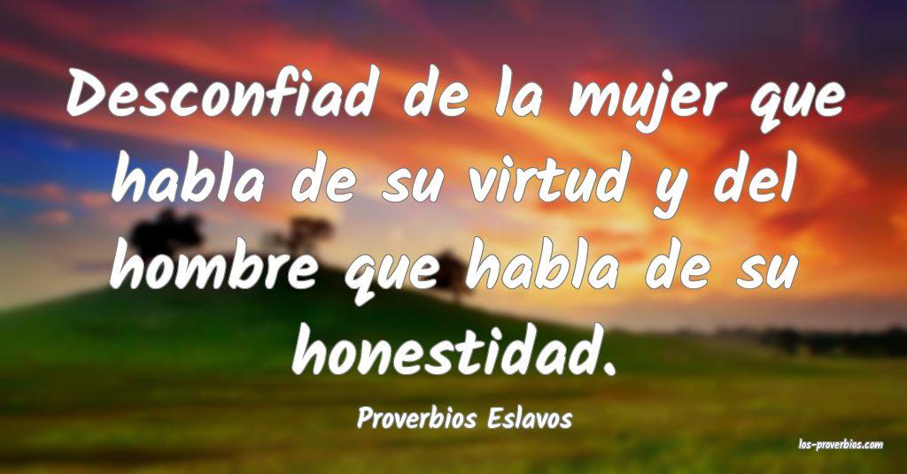 Proverbios Eslavos