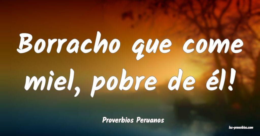 Proverbios Peruanos