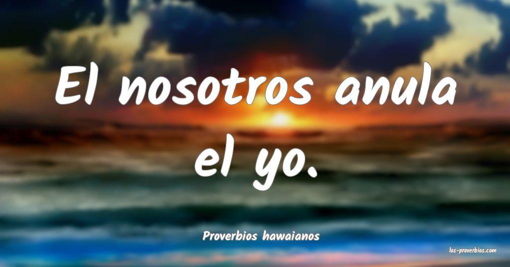 Proverbios hawaianos