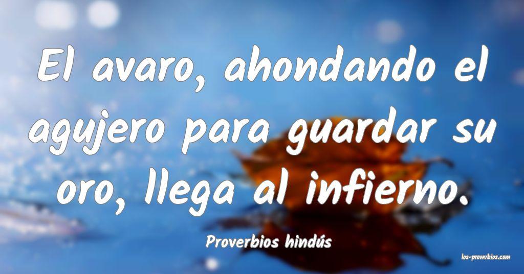 Proverbios hindús