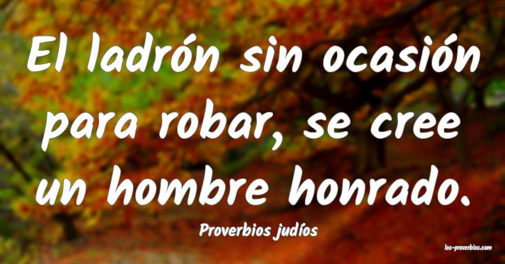 Proverbios judíos