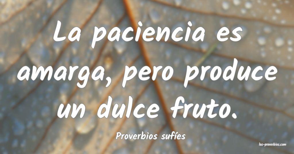 Proverbios sufíes