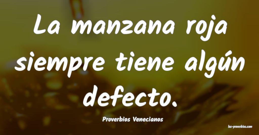 Proverbios Venecianos