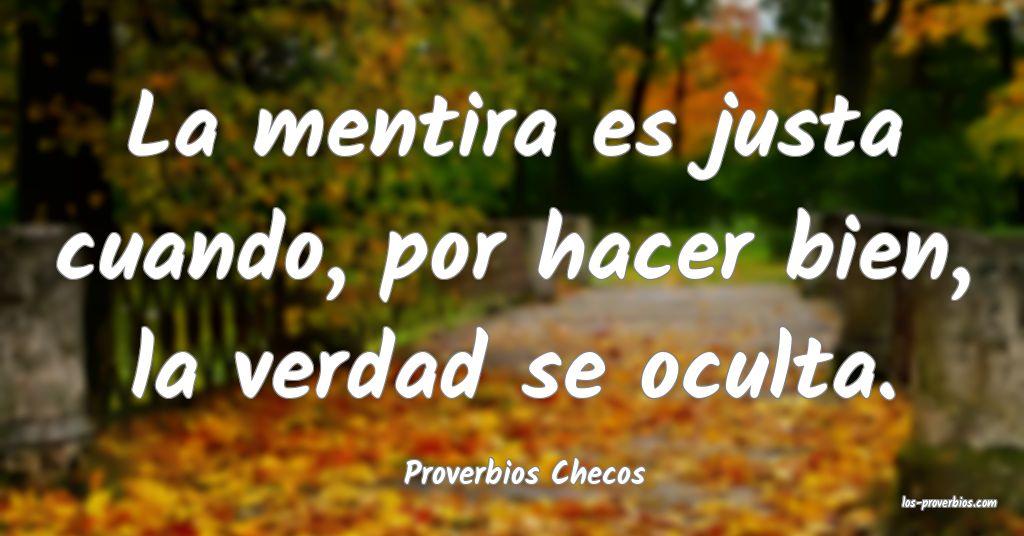 Proverbios Checos