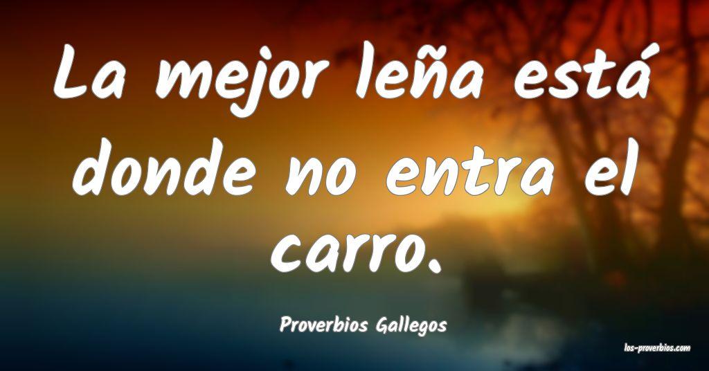 Proverbios Gallegos