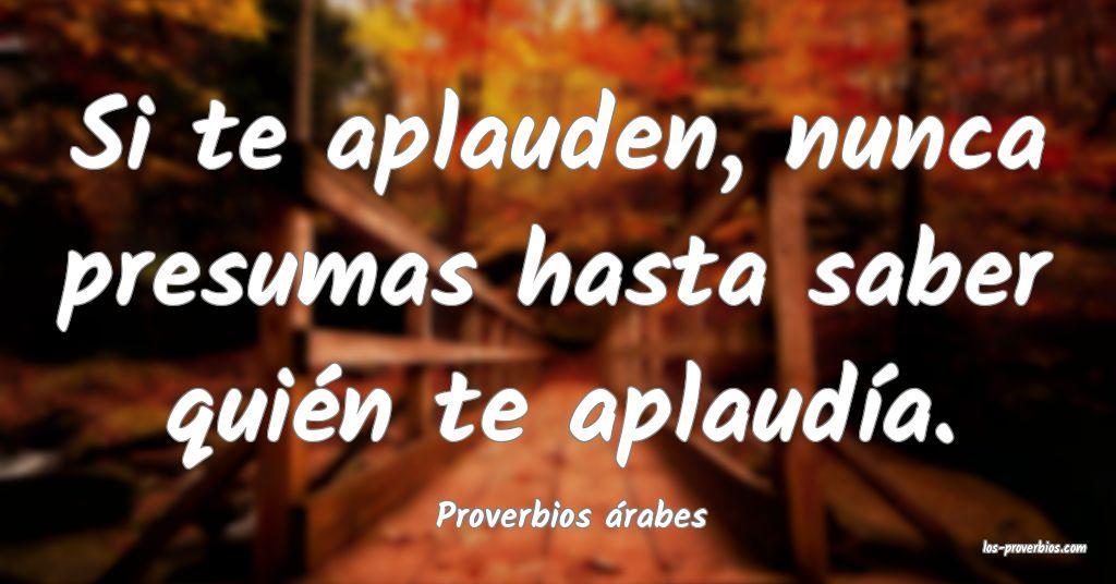 Proverbios árabes