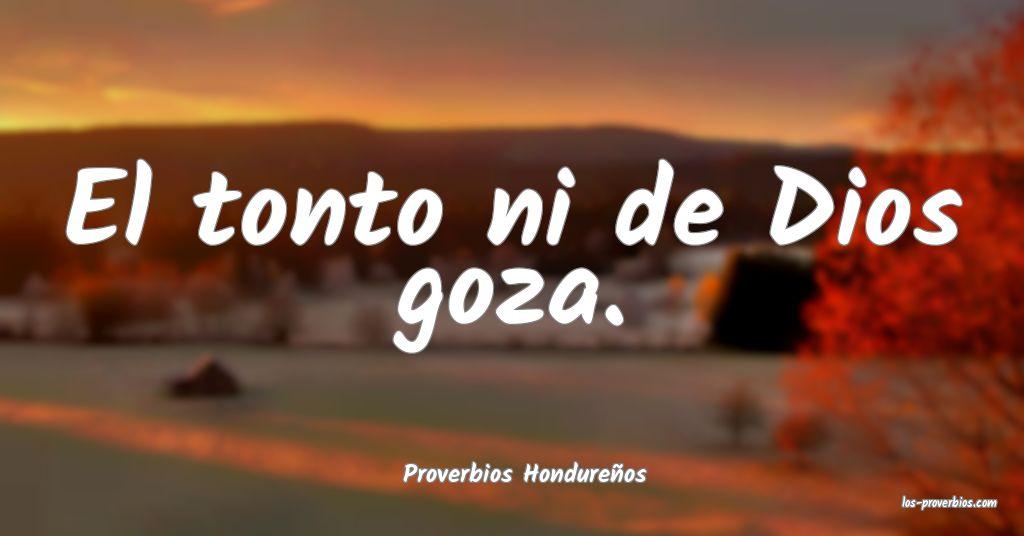 Proverbios Hondureños