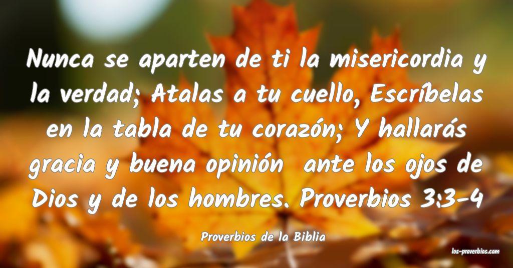Proverbios de la Biblia