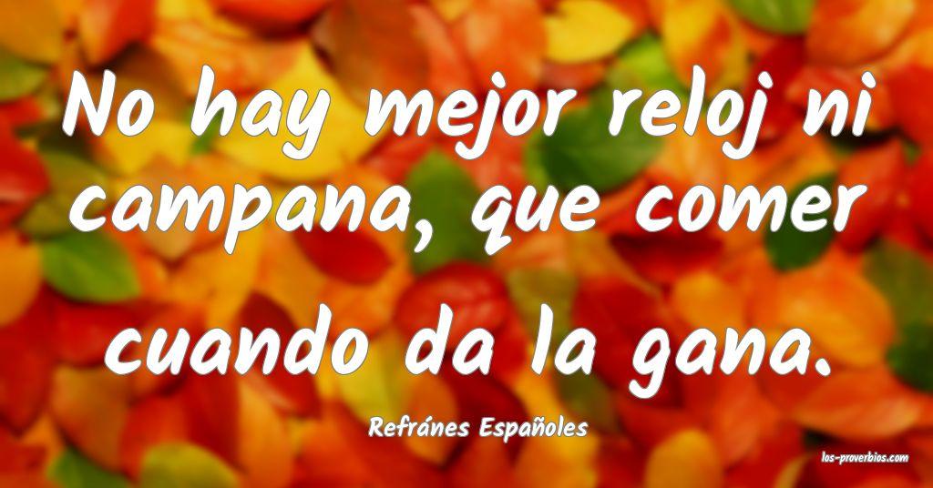 Refránes Españoles