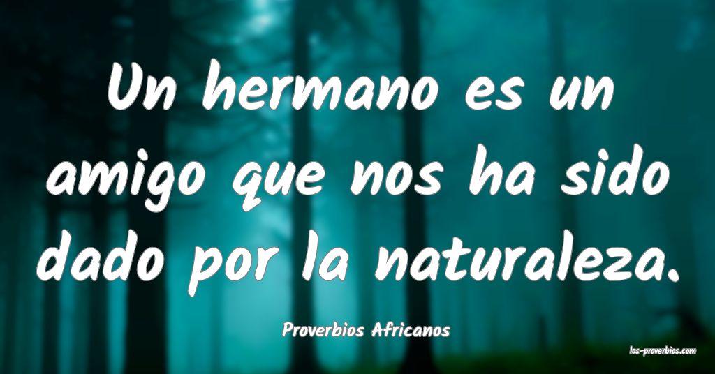 Proverbios Africanos