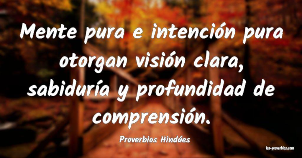 Proverbios Hindúes