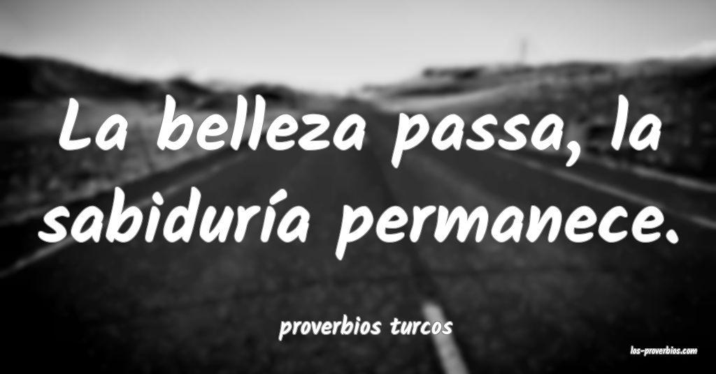 proverbios turcos